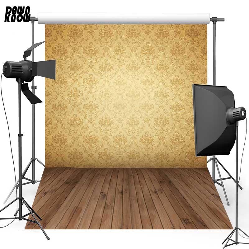 Fondo de fotografía de vinilo de flores de Damasco para piso de bebé nuevo telón de fondo de tela de poliéster para estudio fotográfico de boda F310