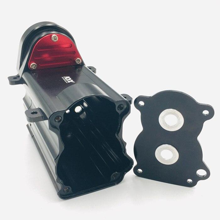 CNC metal de alumínio caixa de caixa de engrenagem de transmissão PARA TAMIYA CUSTOM 1/14 SEMI-TRACTO