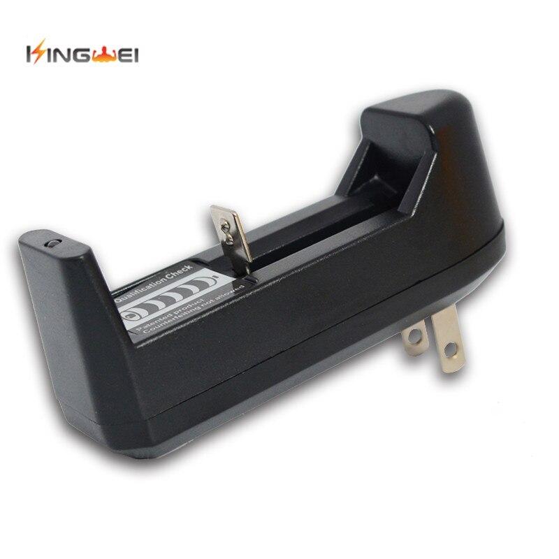 KingWei 10 unids/lote universal cargador de batería recargable traje para 14500, 18650, 16430, 26650 batería de litio