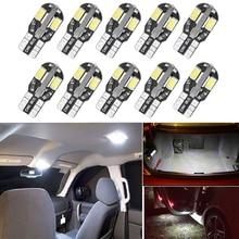 10x W5W T10 LED Canbus Light Bulb For Lexus IS250 RX330 IX470 GS GS300 RX300 Infiniti  FX35 Q50 Car Interior Dome Reading Lights