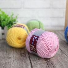 Laine dagneau   Cachemire biologique, fil acrylique pour tricoter à la main, fil épais, bon pour faire des écharpe, chandail, gants, chapeau A