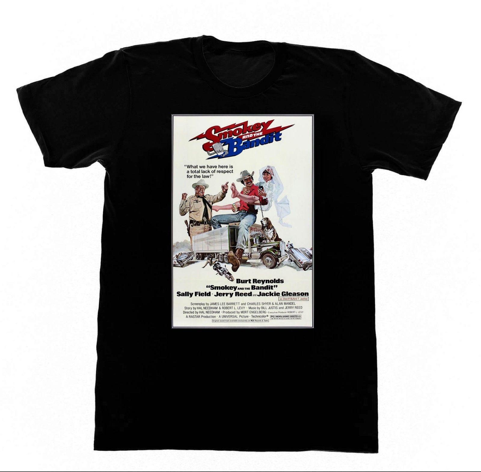 Smokey y el Bandit-Shirt camiseta Trans Am Bert Reynolds Racinger verano manga corta Camiseta de moda envío gratis