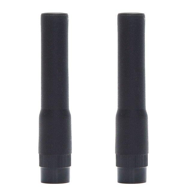 2 uds. De Mini antena suave de banda Dual ST-20 para Yaesu VX-6R TYT TH-UV8000D MD-380 Walkie Talkie