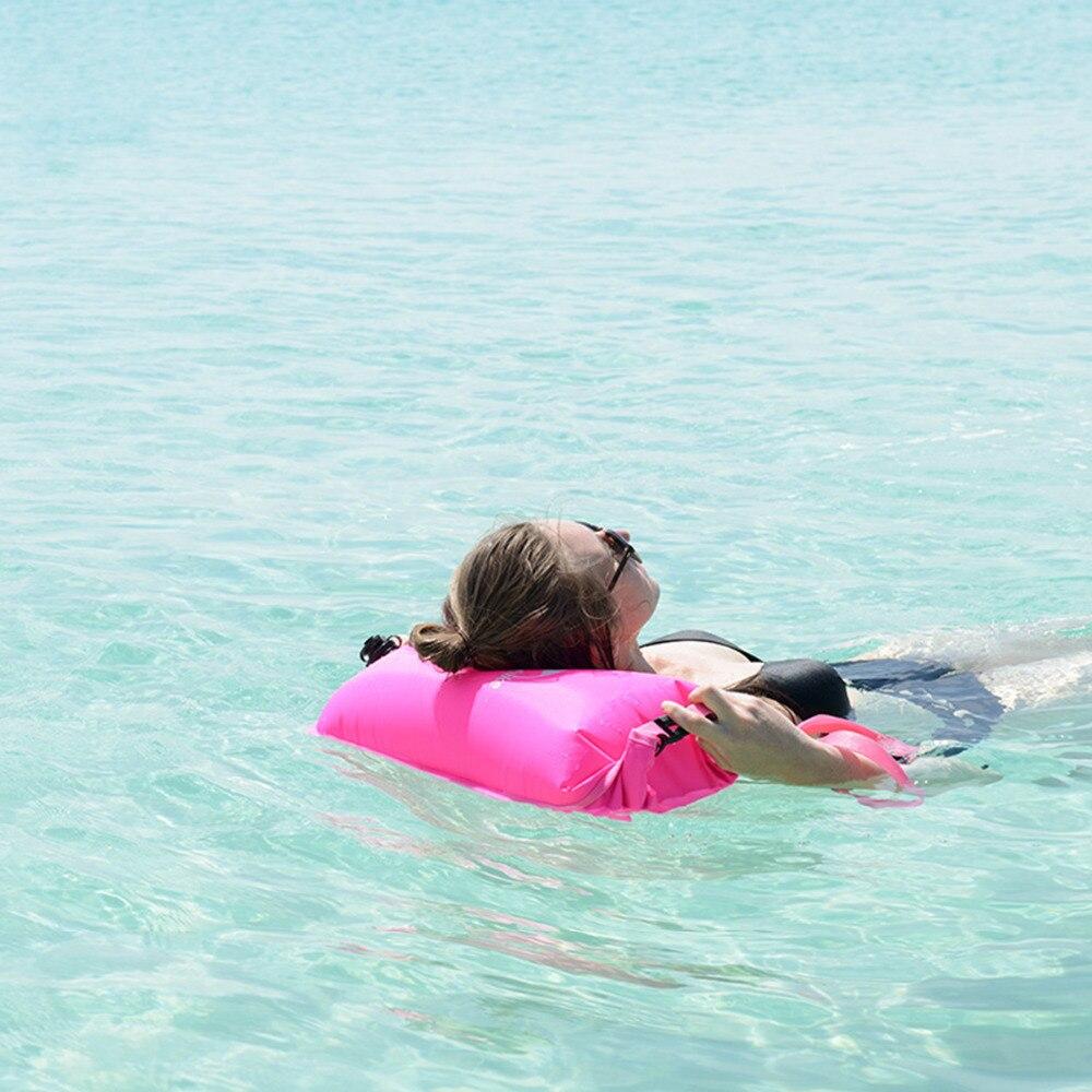Naturehike, bolsa impermeable inflable, secado de viaje, 3 capas, playa, Rafting, deportes, esnórquel, equipo de natación para acampar, NH17S001-G