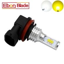 1Pcs 9005 9006 H8 H11 H16JP H7 H4 Canbus CSP 72W 1000LM Car LED Light Bulb Lamp HB3 HB4 H16 Auto Fog Lights 12V 24V Car Styling