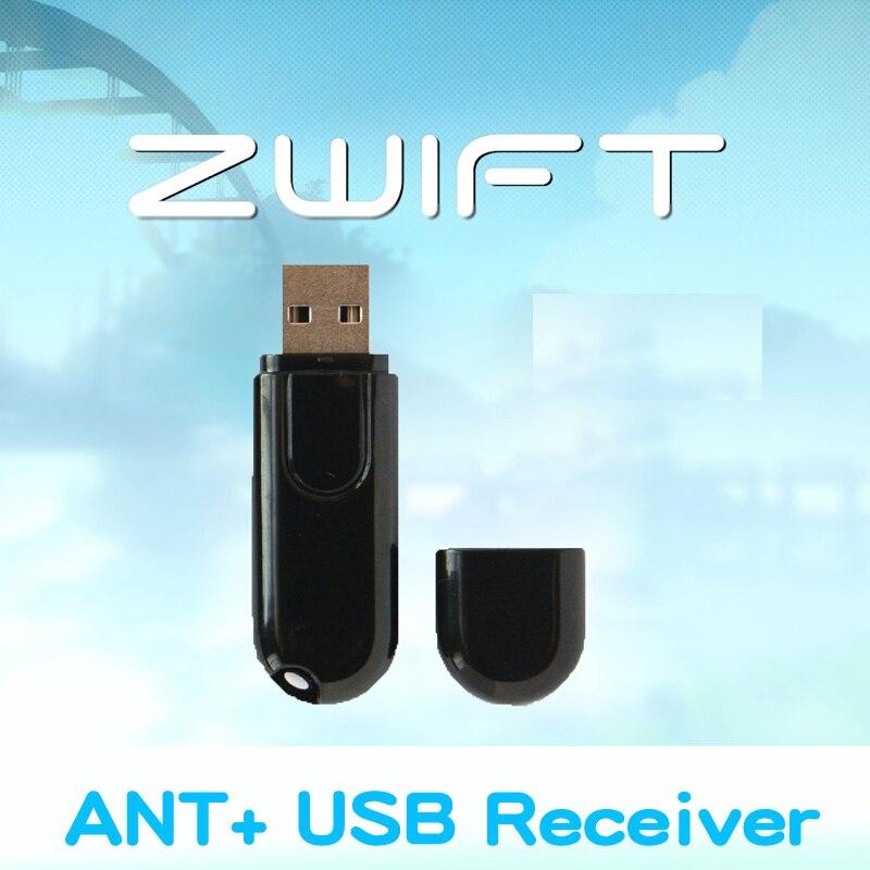 Zwift ANT + USB משדר מקלט תואם Garmin Bryton אופני מחשב מחזור USB ANT מקל Bluetooth מהירות קיידנס חיישן