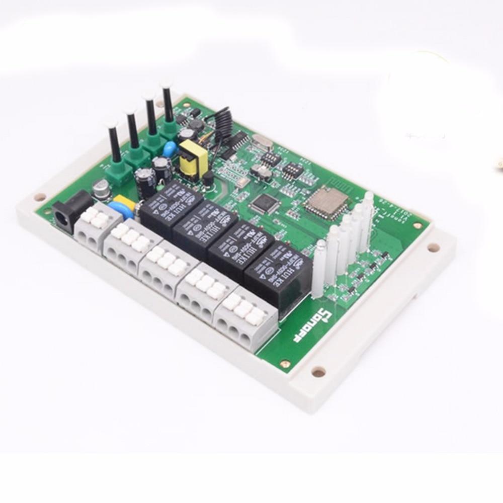 Оригинальный Sonoff 2,4G Wifi Пульт дистанционного управления умные модули автоматизации 4ch R2 PRO Smart Switch 4 канала 433 МГц