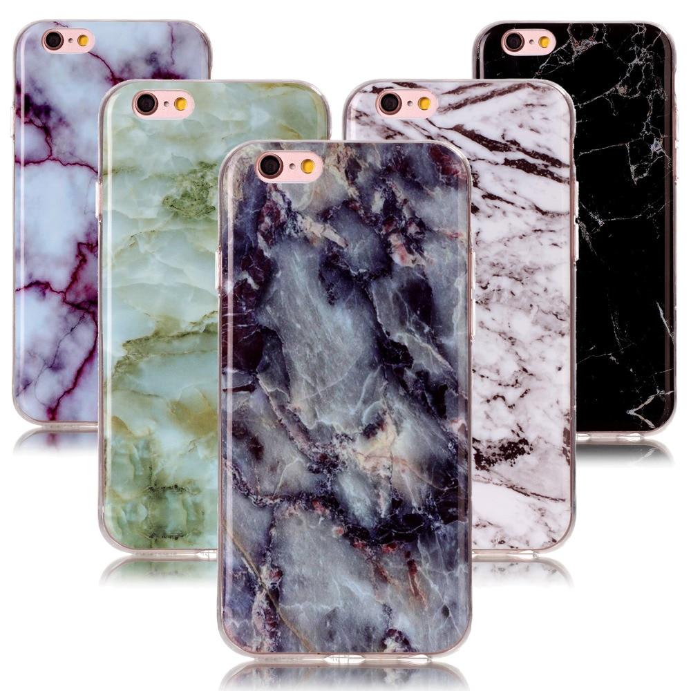 Ультратонкий силиконовый чехол с мрамором для iPhone 4, 5S, 5, 4S, 5C, 5SE, 6, 6 S, 7, 8 plus, чехол под мрамор для iPod Touch, 5, 6, чехол для 6s
