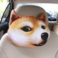 Comfortable Cartoon Headrest Car Interior Pillow Decoration Car Accessories