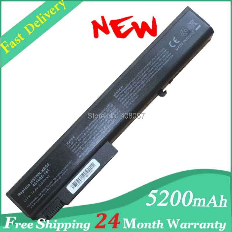 8 cell batteria per hp elitebook 8540 p 8540 w 8740 w hstnn-xb60 hstnn-ob60