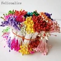 Etamine a sucre artificielle multicolore 3mm  500 pieces  pour decoration artisanale de mariage a domicile  decoration de gateau et bricolage