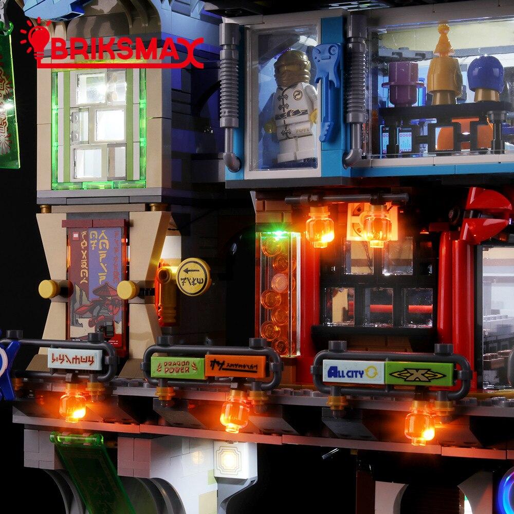 Купить с кэшбэком BriksMax Lighting Kit Set For 70620 Building Blocks , (NOT Include The Model)