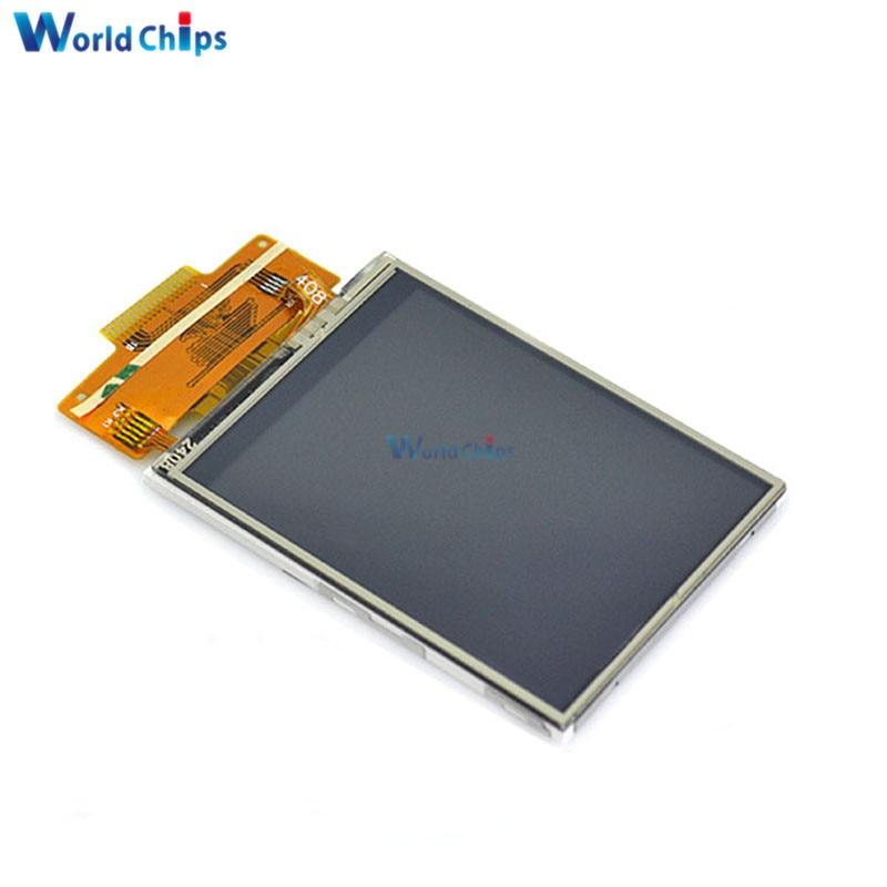 """2,4 """"240x320 SPI серийный TFT цветной ЖК-дисплей модуль + ILI9341 Сенсорная панель экран"""