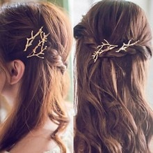 Women's Fashion Minimalist Lovely Retro Branches hair clips CJWD73