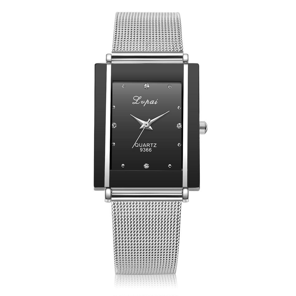 Reloj de pulsera de cuarzo, Reloj de plata de lujo para Mujer, Reloj de acero inoxidable para damas, Reloj de regalo, relojes de Mujer Bayan Kol Saat