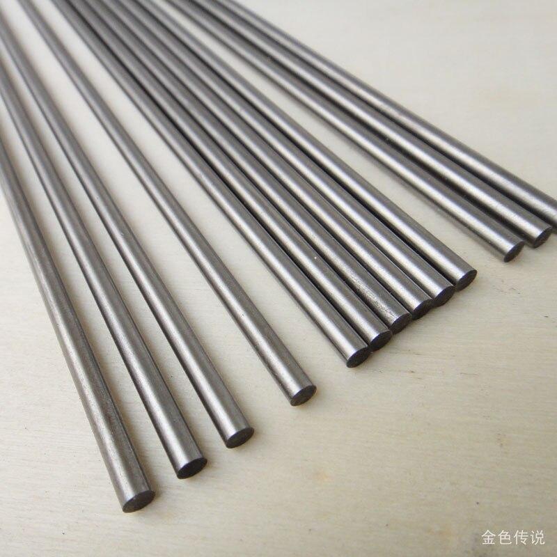 JMT длинный стальной вал 25 см, металлический стержень 250 мм, стальной вал, DIY оси, строительные модели, материал аксессуаров 5 мм 6 мм 7 мм Диаметр F19188/90