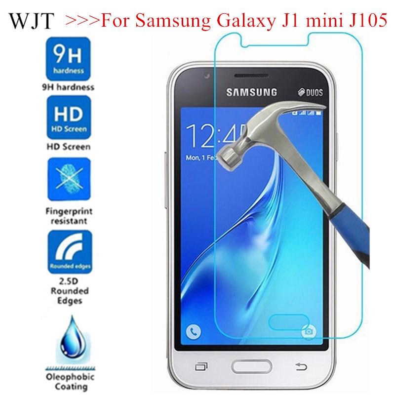 Закаленное стекло для Samsung Galaxy J1 mini J105 SM-J105H DUOS Glass on J1MINI J105H/DS SM J105B/DS Защитная крышка для экрана