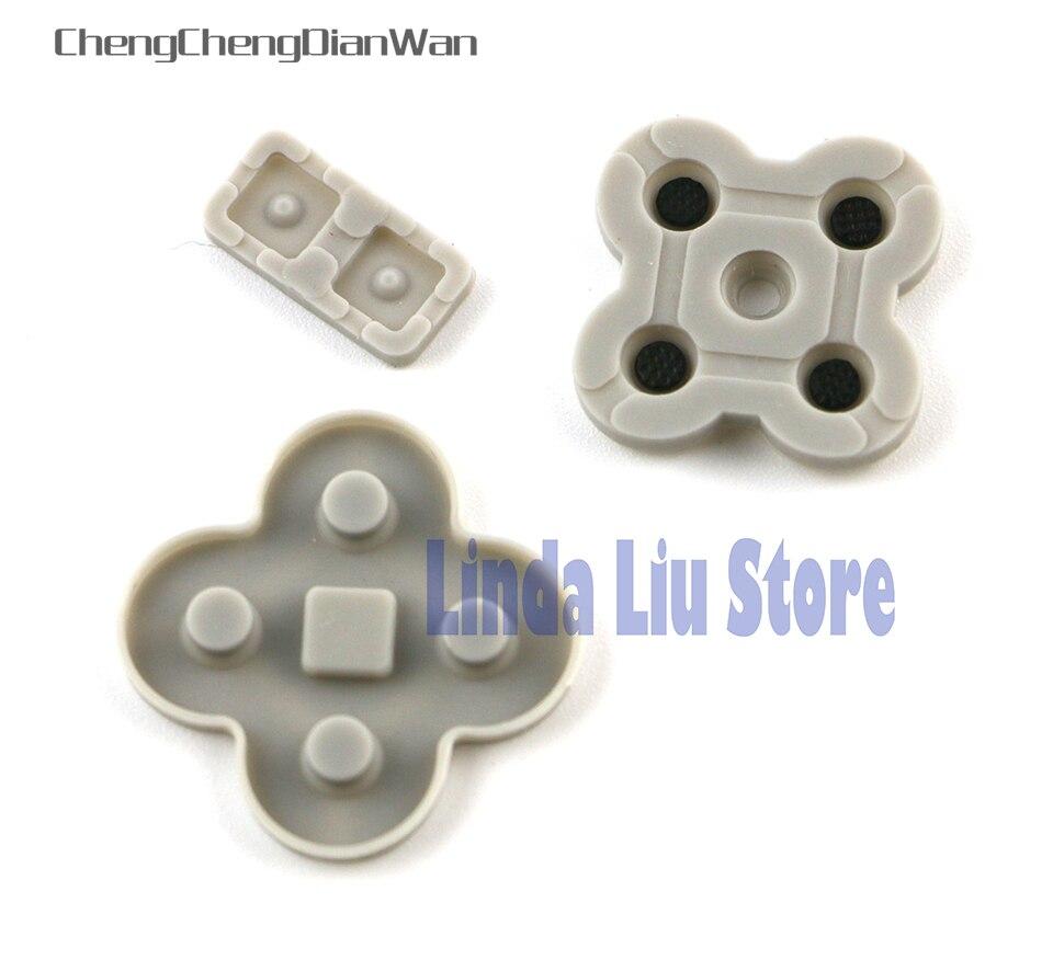 ChengChengDianWan 100 sets uitvoeren knop rubber siliconen dpad pad RL LR L R links rechts keypad voor NDSL/DSL/Nintendo DS Lite