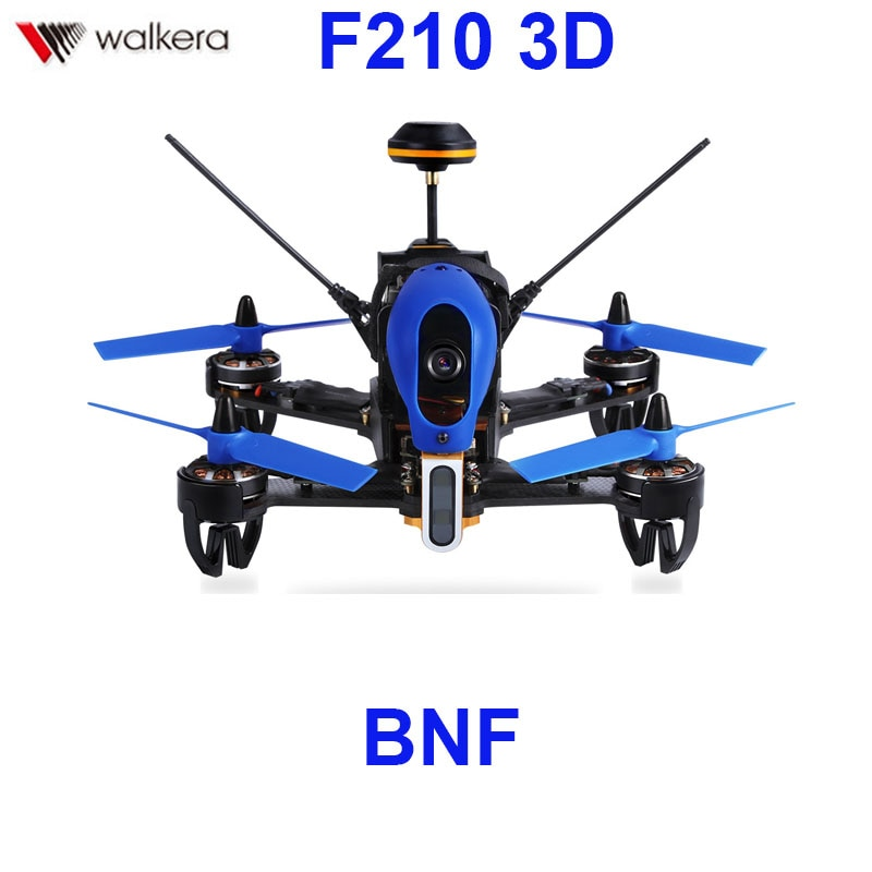 (In stock) Original Walkera F210 3D BNF version  (Without transmitter)  racing Drone quadcopter with