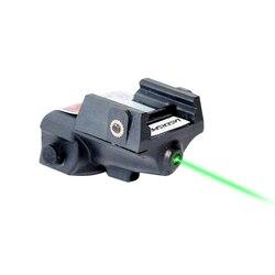 Laserspeed Пистолет Мини зеленый лазер тактический военный Перезаряжаемый для Glock Colt 1911 Таурус оружейный лазерный прицел
