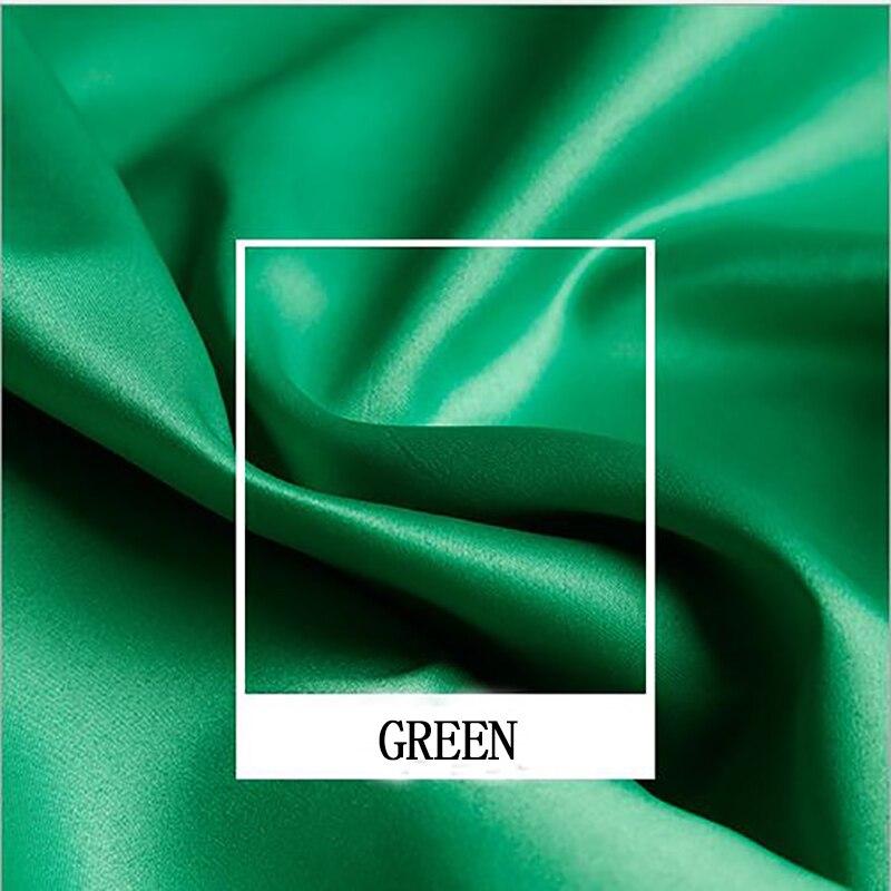 Tela de fieltro jacquard de satén africano verde de 150x100cm tela de Damasco suave para patchwork, vestido de boda, tapicería tejido de costura