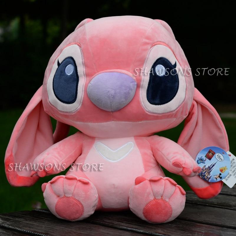 """Juguetes de peluche de personaje de TV lilo-stitch 9 """"muñeca suave de Ángel amiga de la chica Stitch Original"""