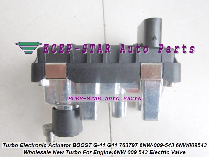 TURBO actuador electrónico G41 G-41 6NW009543 763797 6NW-009-543 para Mondeo Mk2 1.8L Stellmotor 780502-5001S 780502-0001 de 780502