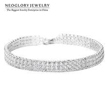 Neoglory Charm Beads Wrap Chain Bangles & Bracelets Girl Trendy Fashion Bridal Wedding Snaps Fashion Jewelry 2020 Wedj Wedj-b P1