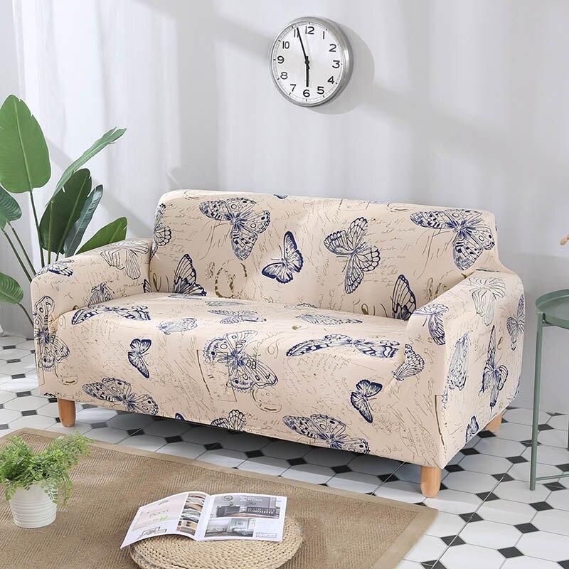 Funda de sofá ajustada, funda de sofá elástica, toalla de sofá para muebles, sillón, fundas de sofá seccionales de estilo L, fundas de sofá 2 y 3 plazas