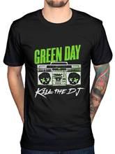 Officiel Green Day Kill The Dj T-Shirt Band Merch Rock Pop Punk Billie Armstrong manches t-shirts