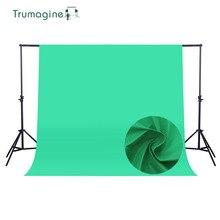 1.6*4 M/5.2 * 13Ft Photo Studio Sfondo Dello Schermo Verde Photography Sfondo Sfondo tessuto Non Tessuto Chroma chiave Fondali