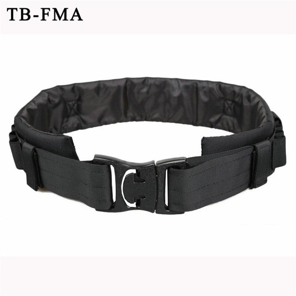 Cinturón de concha de escopeta de caza de TB-FMA redondo de neopreno Camo Shotshell cinturón de caza soporte de cintura envío gratis