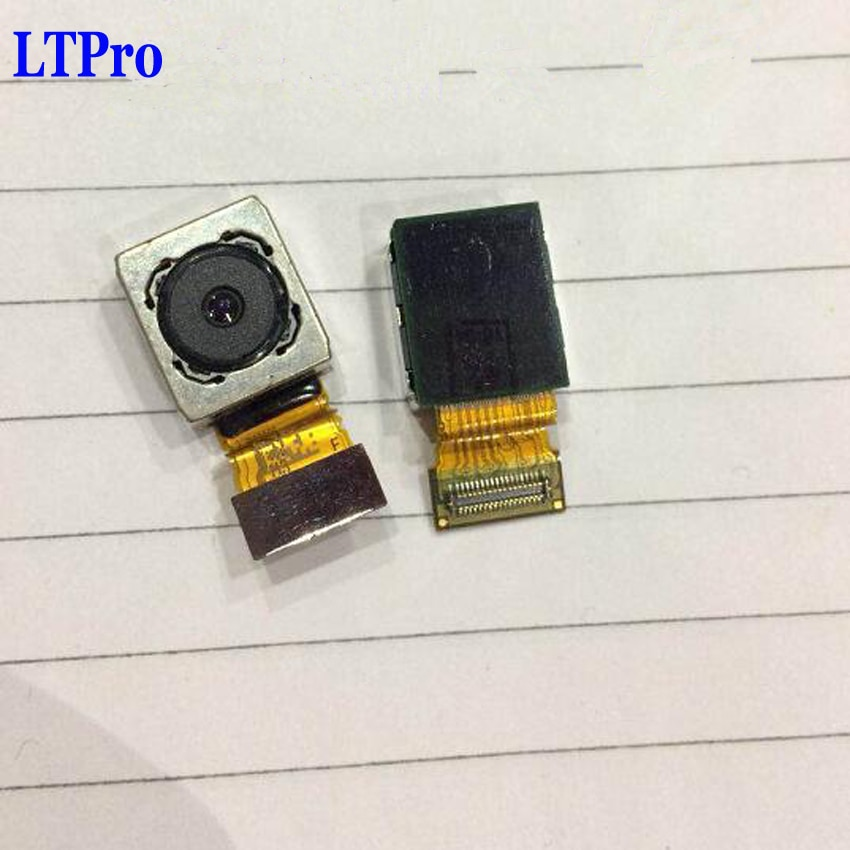LTPro cámara trasera grande de trabajo de alta calidad probada para Sony Xperia Z5 Compact Mini E5803 E5823 piezas de cámara principal del teléfono