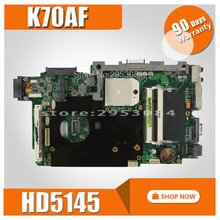 K70AF carte mère REV2.1/2.3 HD5145 512M Pour ASUS K70 K70AF K70AB K70AD ordinateur portable carte mère K70AF carte mère K70AF carte mère