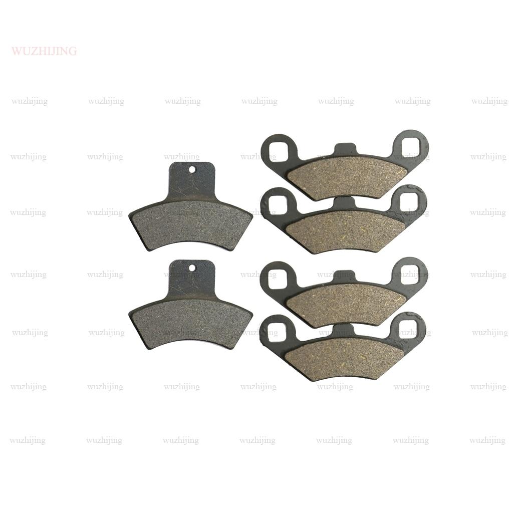 Brake Pad set fit for POLARIS Trail Blazer 330 (04) 400 (03) ES 250 (99-04) Trail Boss 325 (00-05) 330 (03-07) Front Rear