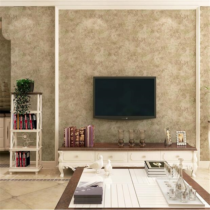 Wellyu-papel tapiz americano retro puro, sala de estar, dormitorio, cálido, fondo liso,...