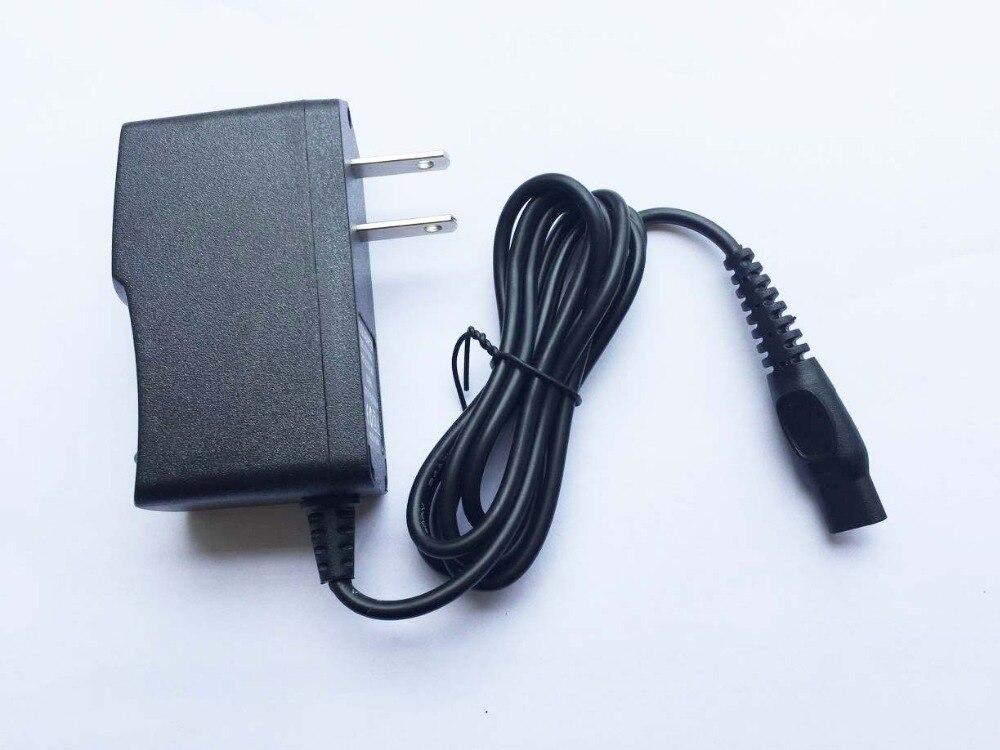 Alta calidad 1 Uds 15V 360mA y 380mA 2-punta nos enchufe de pared AC Cargador/adaptador de corriente para PHILIPS Shaver HQ8505 HS8020 HQ8875 S20