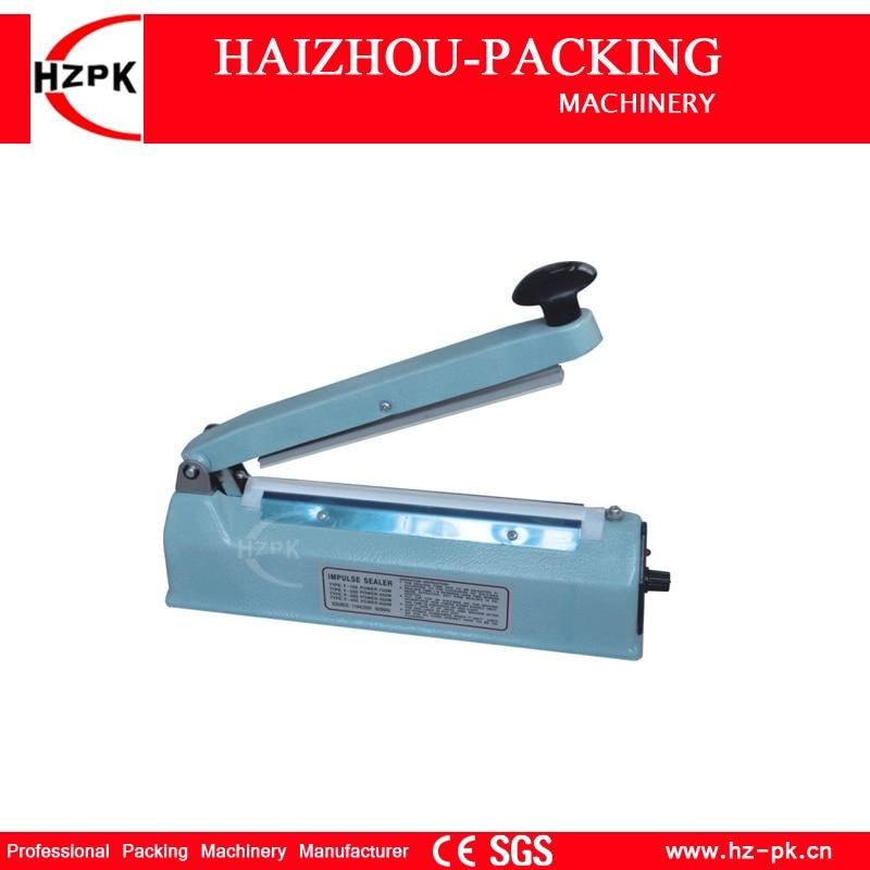 Sellador de pulso de calor de mano, máquina de sellado de bolsas de aluminio y plástico, sellador Manual de cuerpo de hierro, pequeña máquina empaquetadora Industrial SF-200