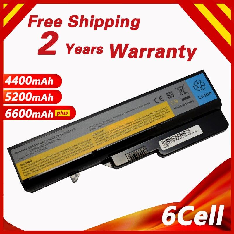 Golooloo 6 תאי סוללה G460 עבור Lenovo G470 V470 L09C6Y02 L09L6Y02 L09M6Y02 L09N6Y02 L09S6Y02 LO9L6Y02 LO9S6Y02 B570E