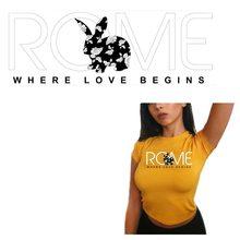 Patchs lettre nom de ROME City pour vêtements bricolage   Patch de T-shirt pour femmes, patchs de T-shirt en fer à coller, bande lavable de niveau A pour Application de vêtements