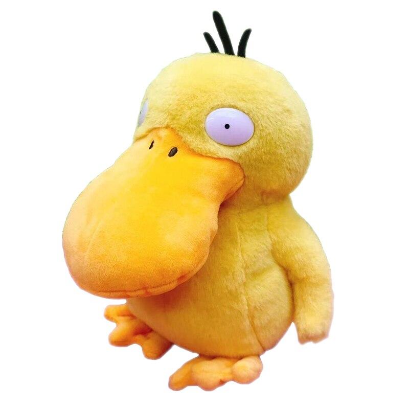 Movie anime Dtve Pikachu Peluche de psyduck juguete lindos pequeños animales pato relleno muñeca regalo exquisito regalo de cumpleaños presente
