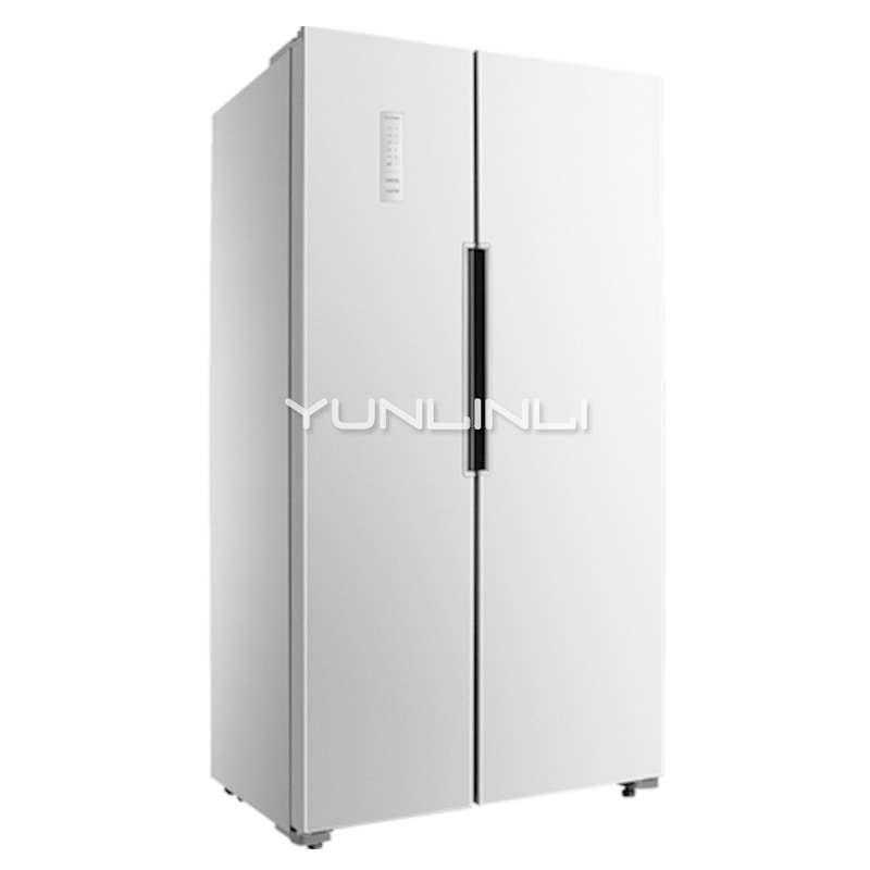 Household Double-door Refrigerator 452L Large Capacity Electric Refrigerator Power-saving Fridge for Home BCD-452WK
