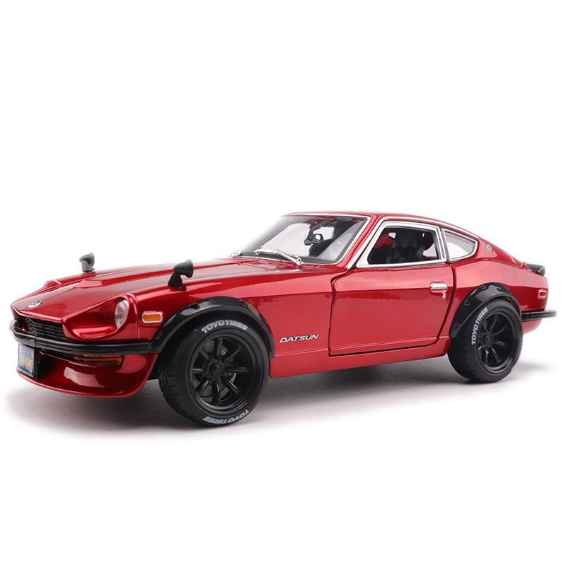 1:18 моделирование сплава спортивный автомобиль модель для Nissan Datsun 240Z с рулевым колесом управления переднее колесо рулевое колесо игрушка для детей