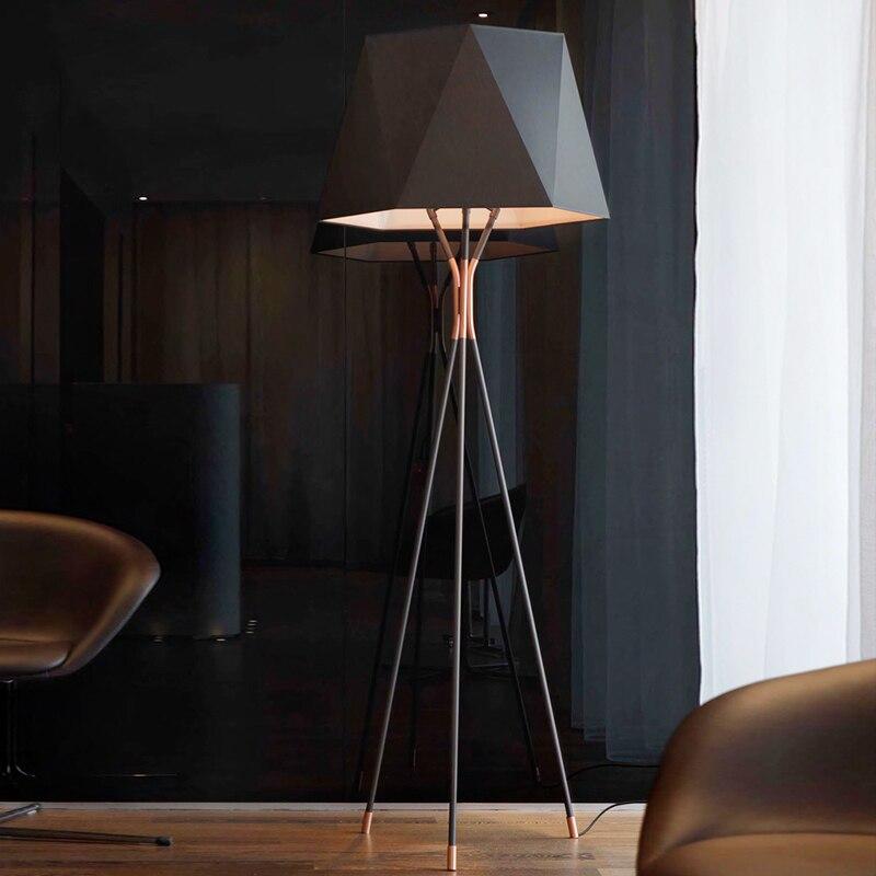 Estilo americano simplicidade e retro lâmpadas de assoalho standing staande lâmpada led nordic lâmpadas assoalho para sala estar vloer