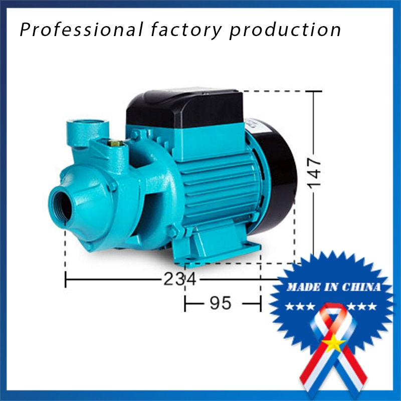 QB60 / 370W household self-priming pressurized solar water circulating pump
