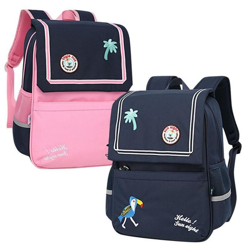 Mochila escolar Unisex de moda para niños mochilas escolares para niños y niñas mochila impermeable de gran capacidad mochila escolar para niños al por mayor