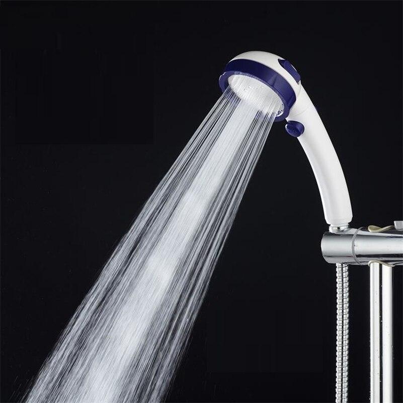 Switch Design ABS Shower Heads Water Saving Handheld Shower Head High Pressure  Pressure Boost Shower Sprayer Duchas Para Ba O