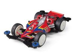 1 pc 95410 tamiya carro vs chassi synchro mestre em forma de vermelho z9 modelo para rc mini 4wd corrida