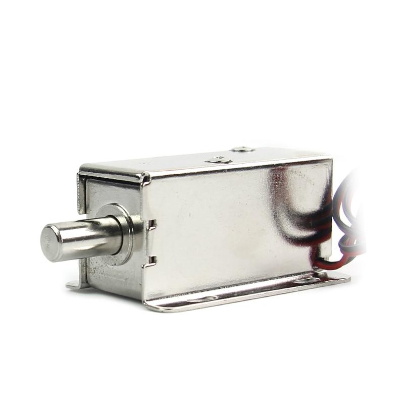 Электромеханический микродверной замок для шкафов, маленький Электрический замок, электронные замки для ящиков, автоматический контроль доступа