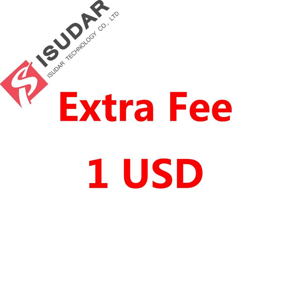 Tarifa adicional 1 USD